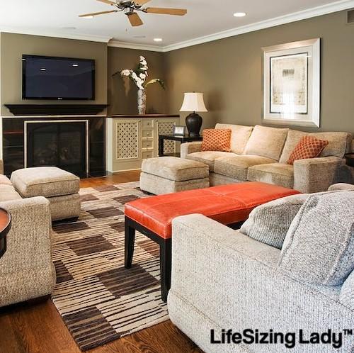 Life Sizing - Living Room