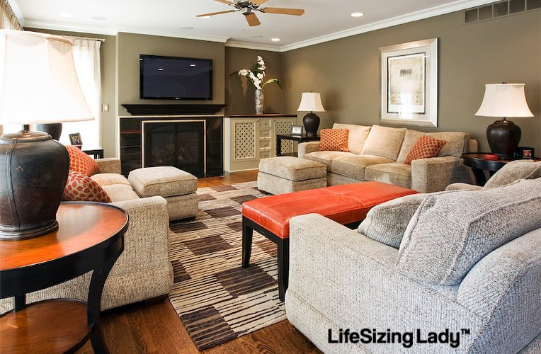 Awesome Life Sizing   Living Room Part 8