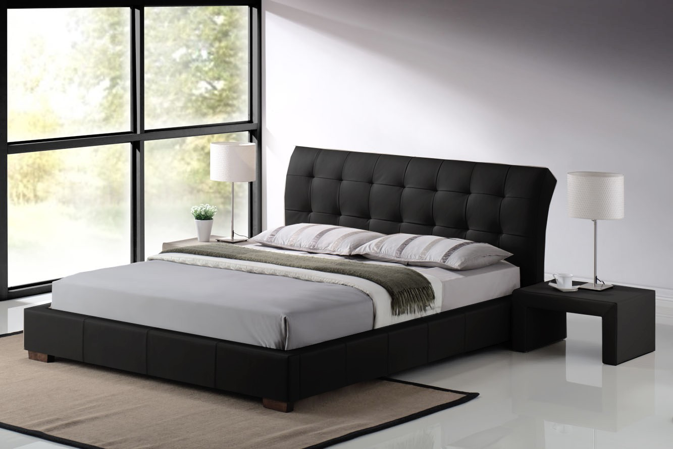Timeless luxury with leather beds for Different headboards for beds
