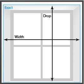 guest blog measuring your windows for roller blinds. Black Bedroom Furniture Sets. Home Design Ideas