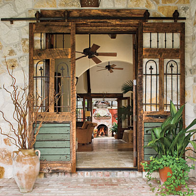 Guest Blog Decorate With Doors Using Restored Vintage