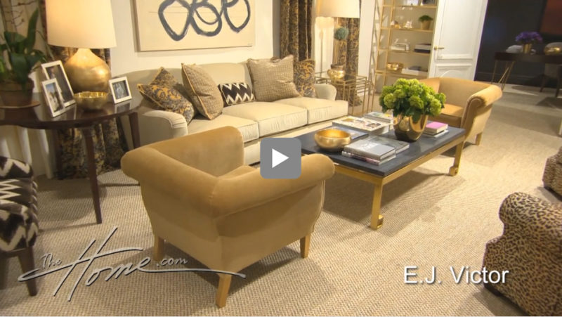 Aerin Lauder, Granddaughter To Beauty Mogul Estee Lauder, Premiered Her New  Furniture Collection At EJ Victor During High Point Market Spring, 2013.