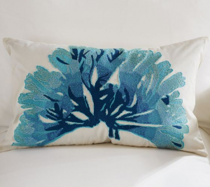 Potter_Barn_-_Blue_Coral_Pillow_Cover