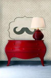 Mustache Wall Murals