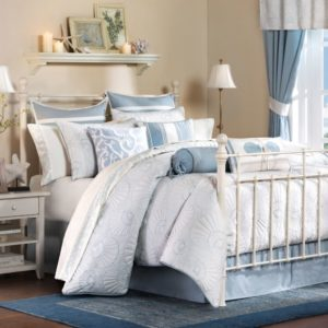 Stunning This Harbor House Bed set is cute and aquatic It can be found at stores like Belk