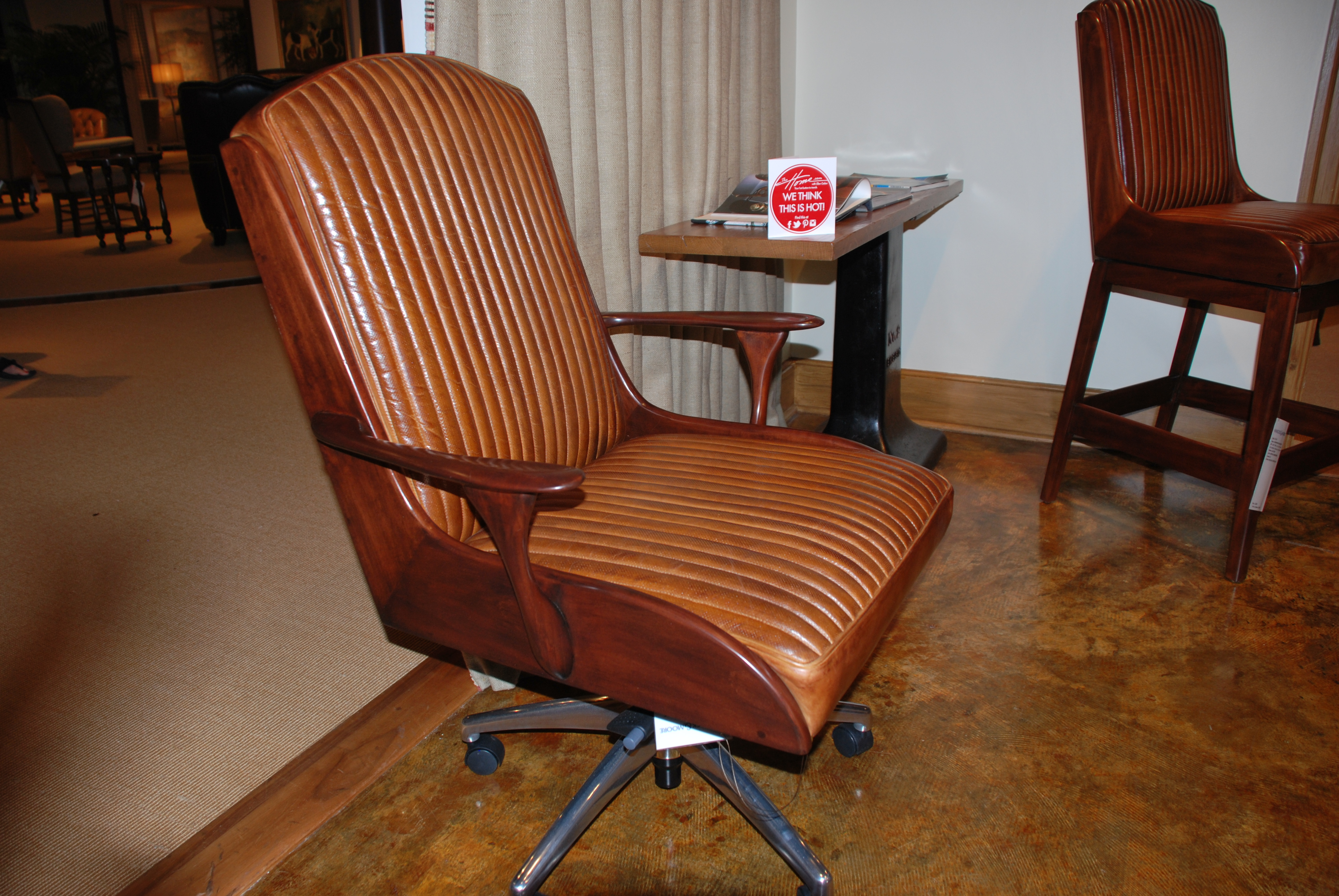 "Get Bent ""Mad Men"" Retro Inspired Wood Chairs TheHome"