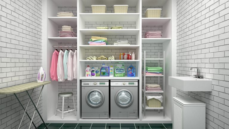 How To Organize Laundry Room Clutter