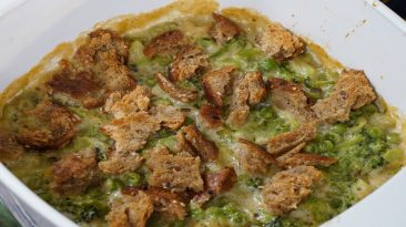 Broccoli Pea Casserole Recipe